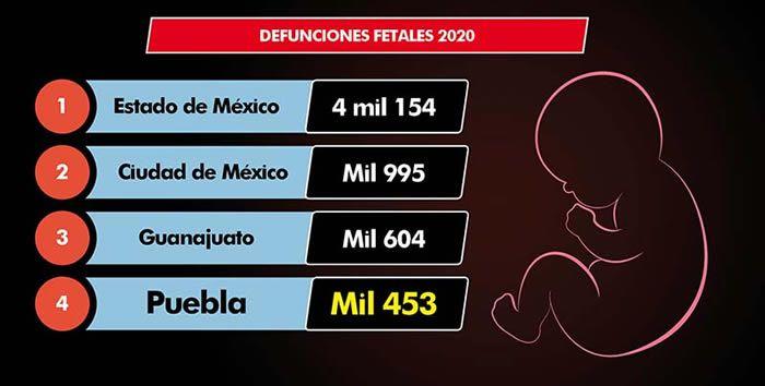 defunciones fetales 2020