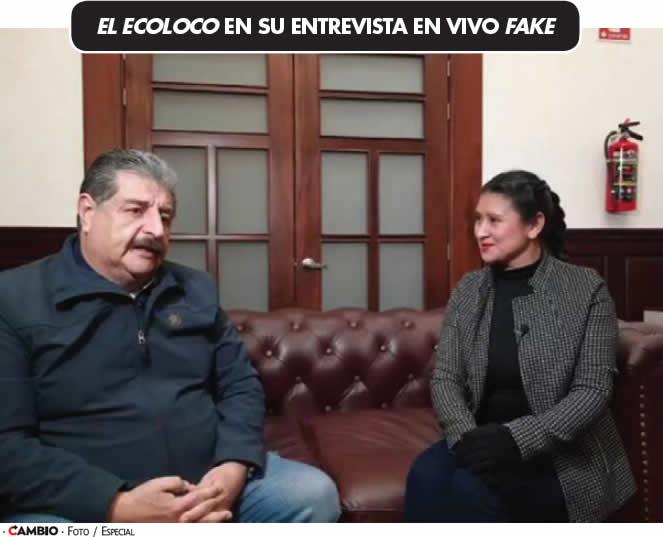 EL ECOLOCO EN SU ENTREVISTA EN VIVO FAKE