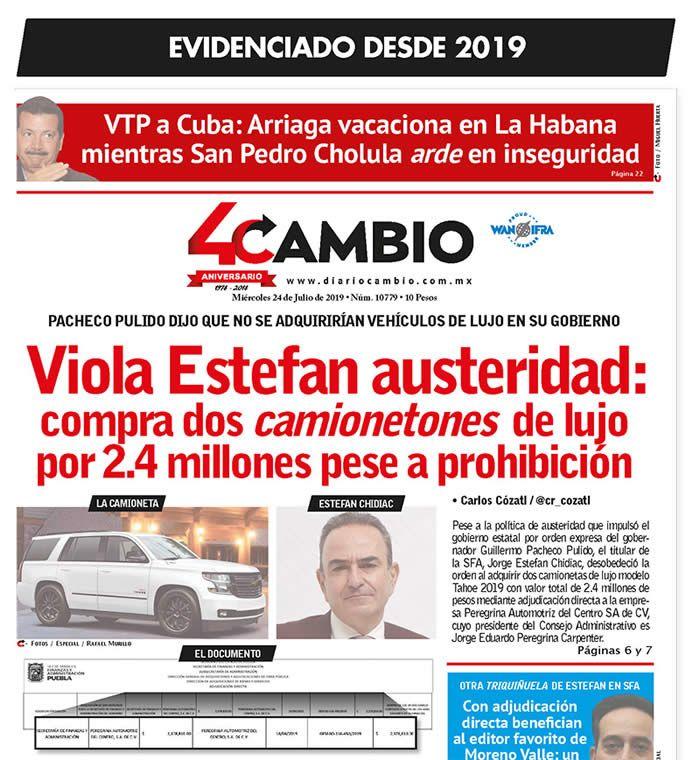 portada evidencia chidiac cambio 2019