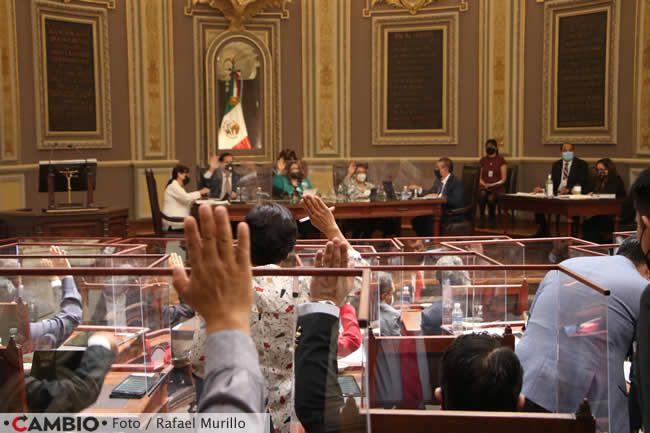 pleno congreso sesion voto