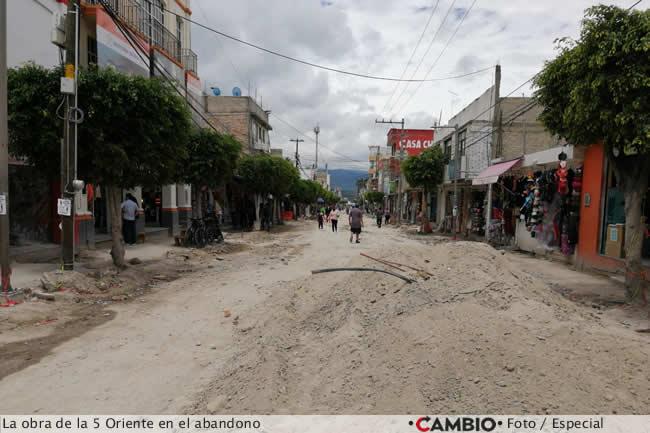 calle tehuacan abandonada