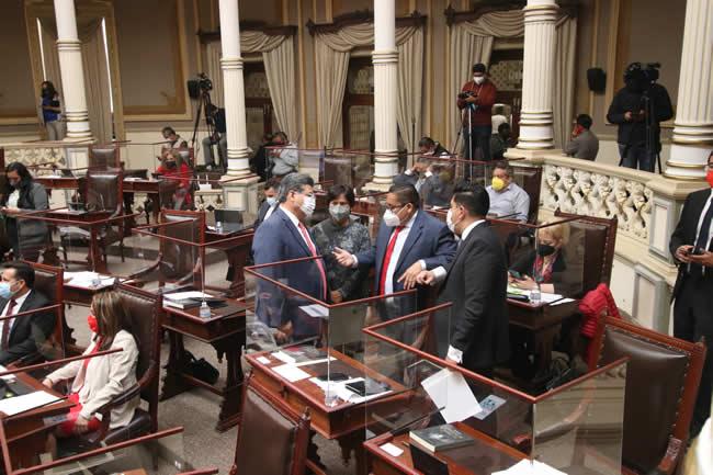 legislatura ultima sesion congreso