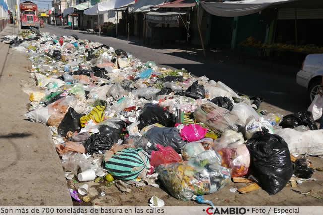 basura tehuacan 700 toneladas