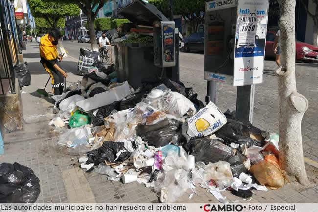 basura tehuacan problema sin resolver