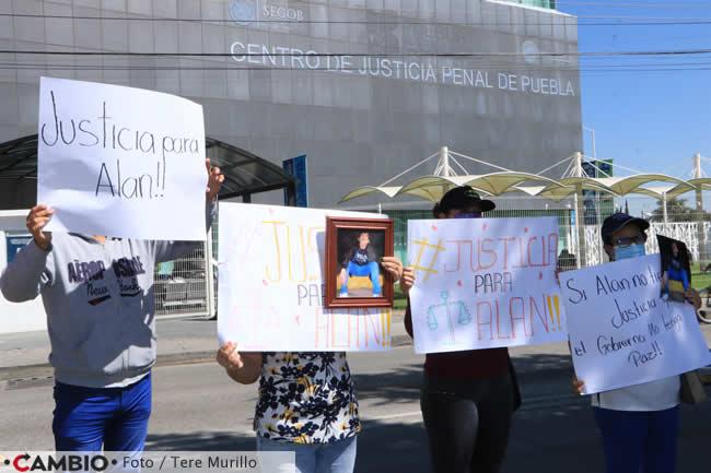 familiares alan jafet piden justicia manifestacion