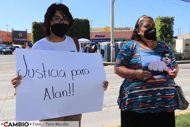 familiares alan jafet piden justicia