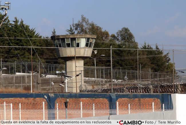 reclusorios falta equipamiento