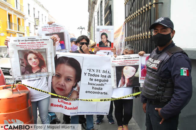 colectivo voz desaparecidos carteles