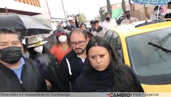 detenidos mapachera coronango