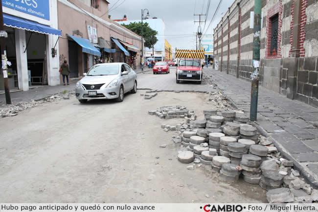 obras reabilitacion calles centro historico