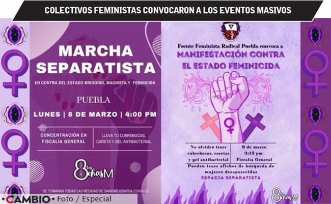 eventos feministas 8m puebla1