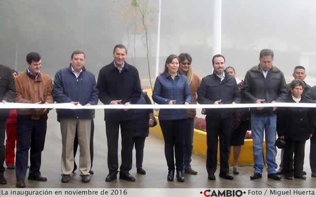 inauguracion puente de la Minera Autlán