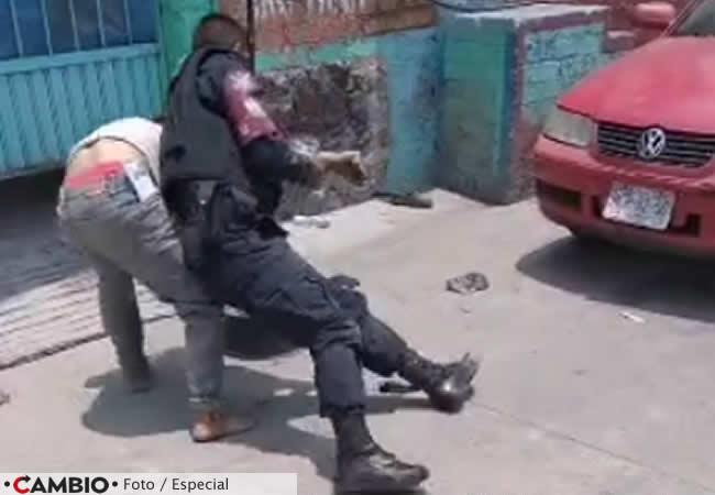 indigente detenido con exceso fuerza izucar