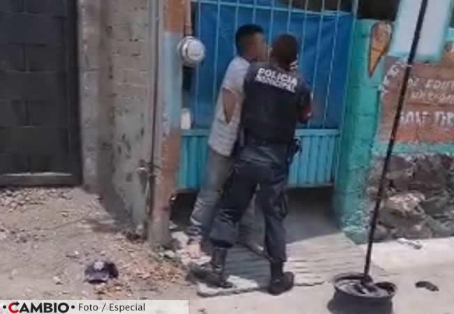 indigente detenido policia izucar