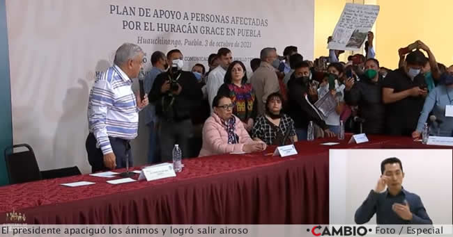 visita amlo huauchinango presidente habla