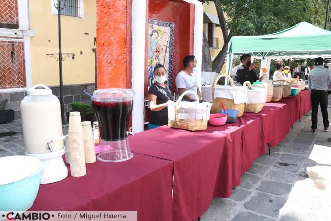 celebracion los sapos claudia rivera comida