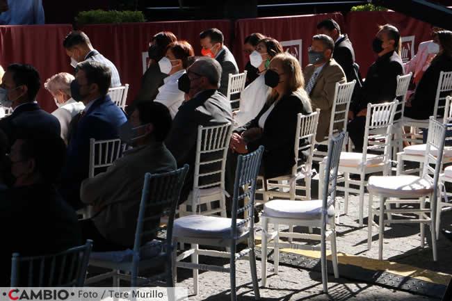 claudia rivera tercer informe sillas vacias