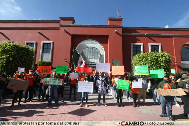 alumnos udlap protesta toma campus