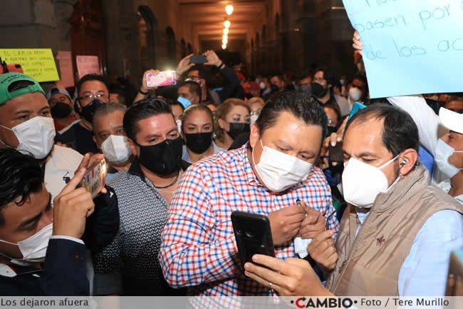 protesta sindicalizados ayuntamiento gonzalo juarez
