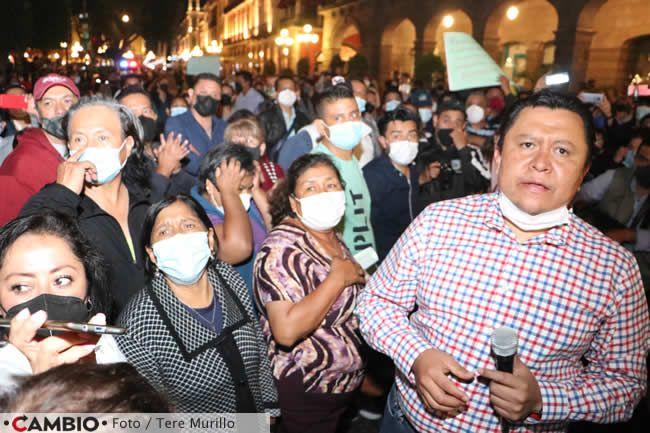 protesta sindicalizados ayuntamiento manifestantes gonzalo juarez