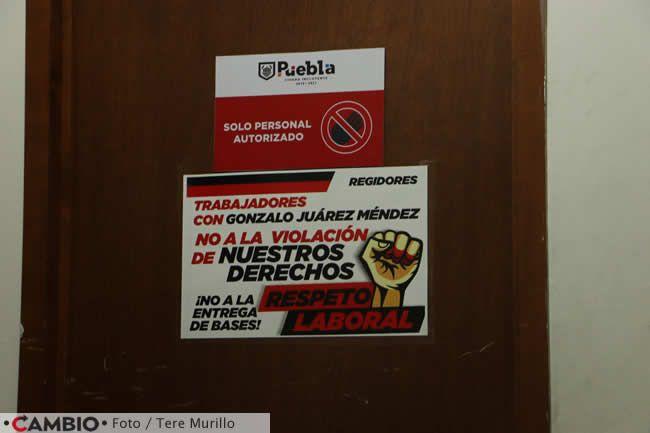 protesta sindicato ayuntamiento bases mensaje
