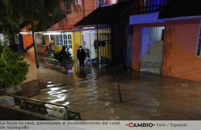 inundacion tehuacan canal de valsequillo