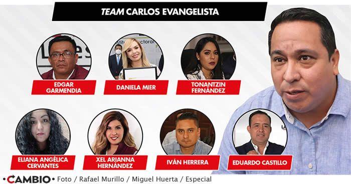team carlos evangelista congreso