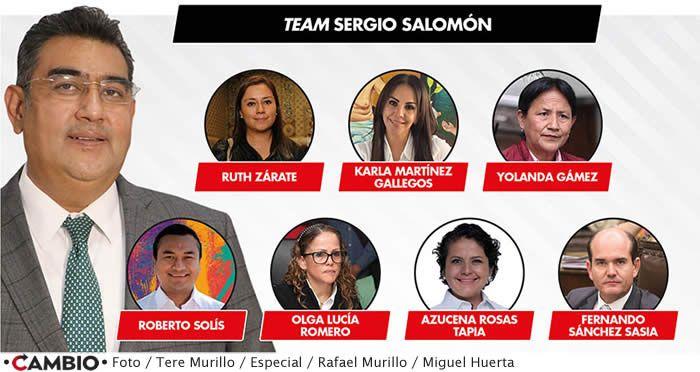 team sergio salomon congreso