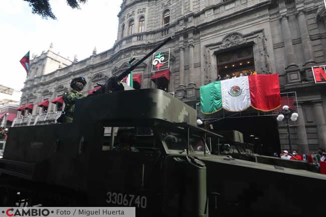 desfile zocalo ejercito mexicano