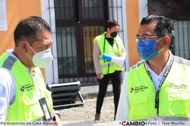 miguel barbosa simulacro sismo 2021 proteccion civil estatal