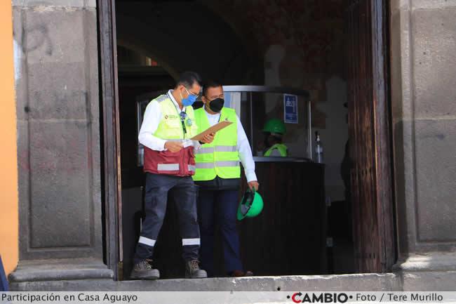 miguel barbosa simulacro sismo 2021 proteccion civil