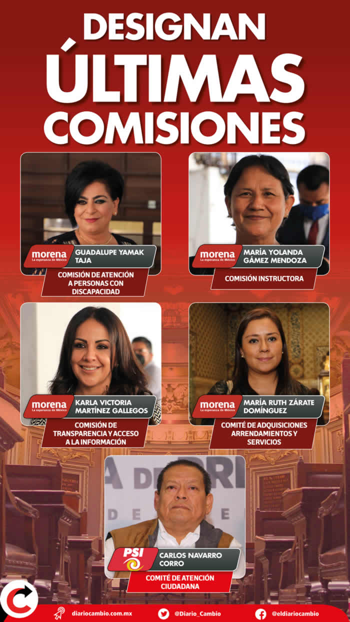 infografia comisiones congreso ultimas