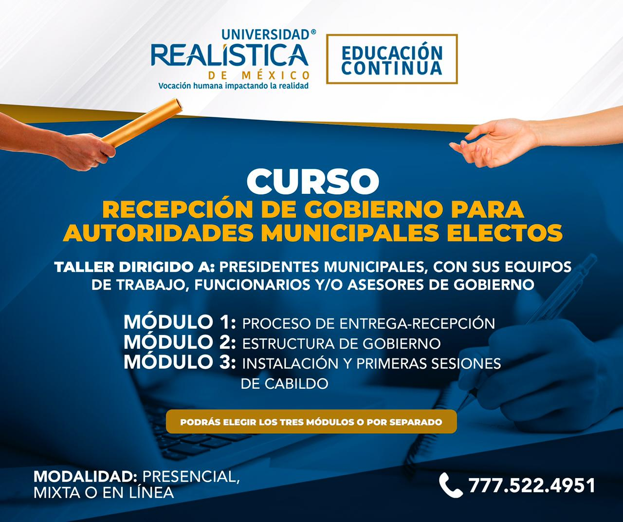 Cambios de Gobierno Municipal