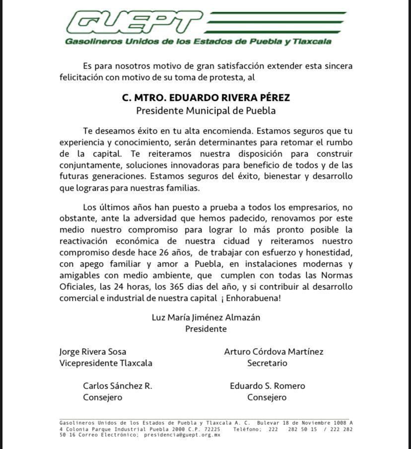 Gasolineros Unidos del Estado de Puebla y Tlaxcala