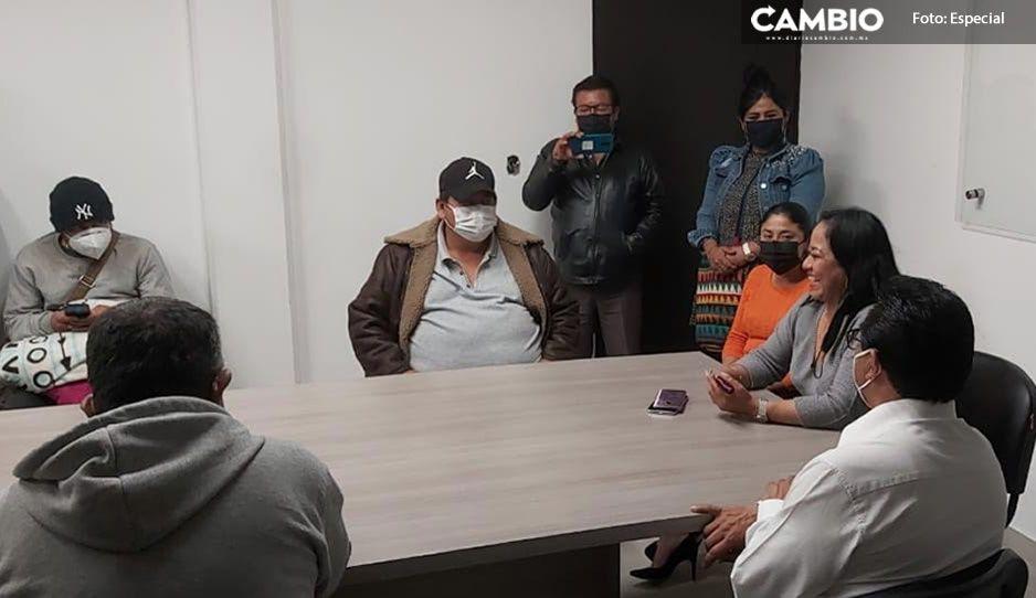 Empleados de SOSAPAC de Cuautlancingo logran que los liquiden con su pago completo