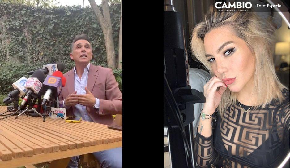 VIDEO: Sergio Mayer invita a Frida Sofía a hacer denuncia penal en contra de Enrique Guzmán