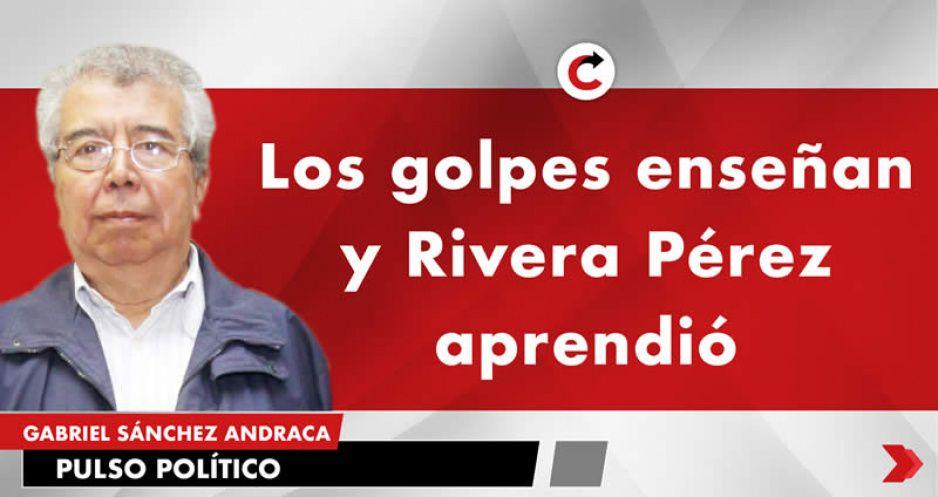 Los golpes enseñan y Rivera Pérez aprendió