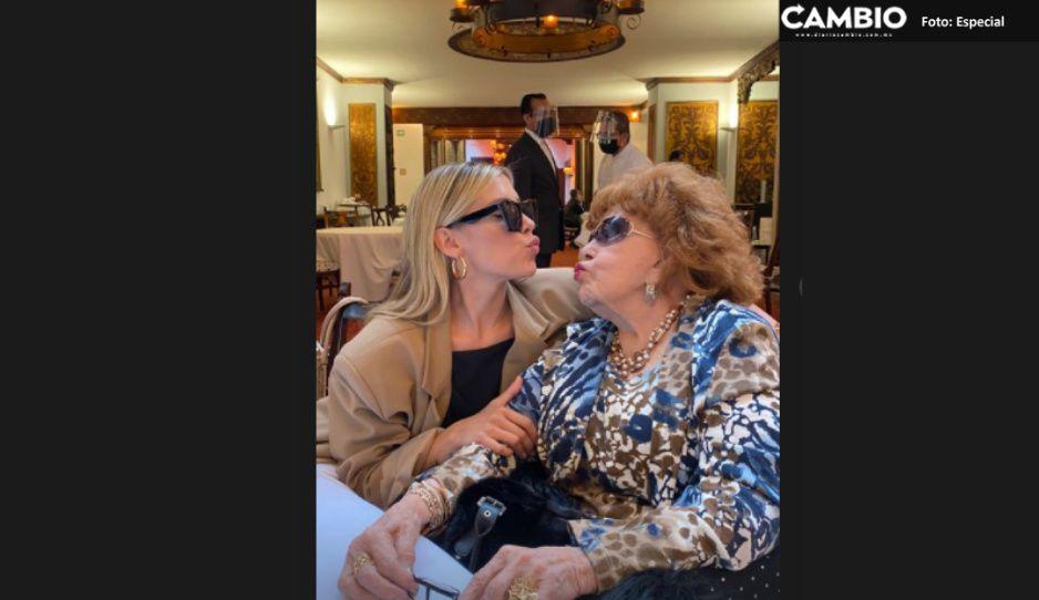 Silvia Pinal cumple hoy 90 años: así lo festeja con su familia