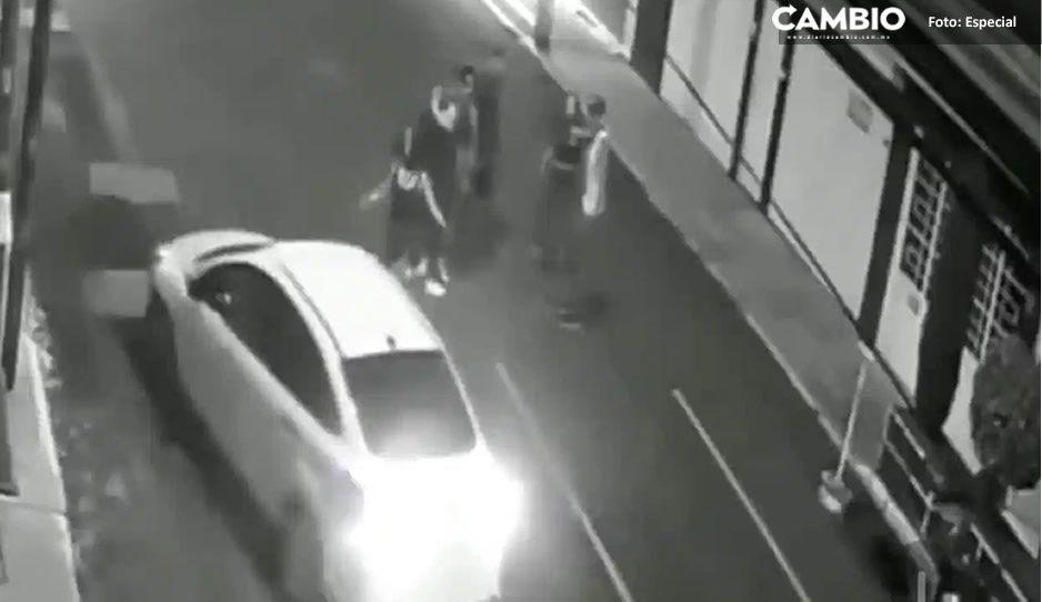 Captan en VIDEO a ebrio que atropelló a dos mujeres al salir de una fiesta en Iztacalco