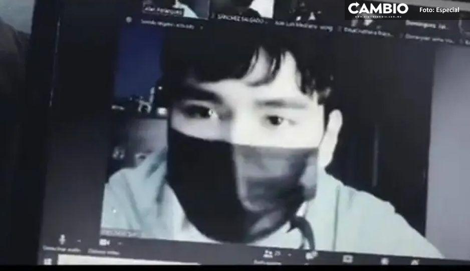 VIDEO: Alumno acusa a profesor de correrlo de clase por su mala conexión de internet