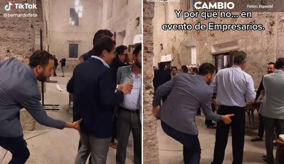 CCE se deslinda de vulgaridad de Bernardo Fernández; agarre de traseros fue con el E100 (VIDEOS)