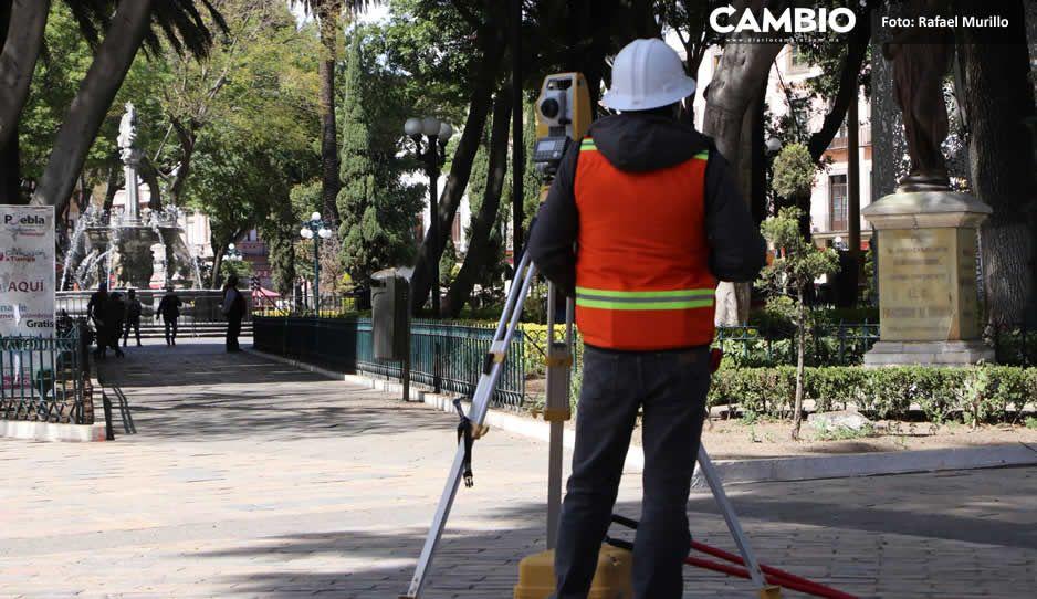 Sedatu y Claudia desafían a Barbosa con inicio de obras en el Centro Histórico (FOTOS Y VIDEO)