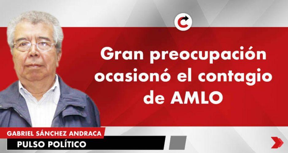 Gran preocupación ocasionó el contagio de AMLO