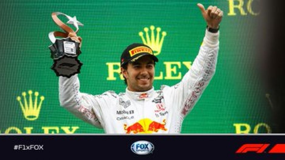 Checo Pérez regresa al podio en Turquía; así fue su duelo con Hamilton (VIDEO)