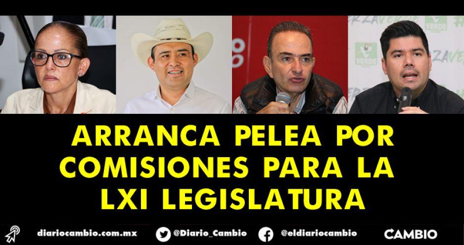 Morena, PRI, PT y PVEM comienzan a definir las comisiones que quieren encabezar