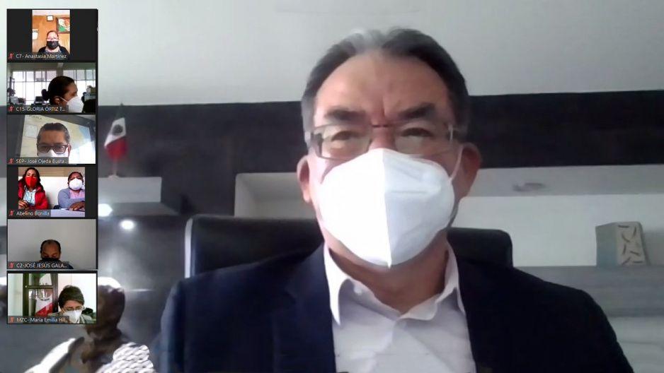 Regreso a clases seguro: Melitón se reúne con regidores para prevenir contagio en las escuelas