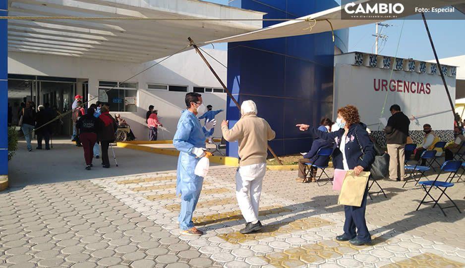 Inicia la segunda etapa de vacunación AntiCovid para abuelitos en Texmelucan (FOTOS y VIDEO)