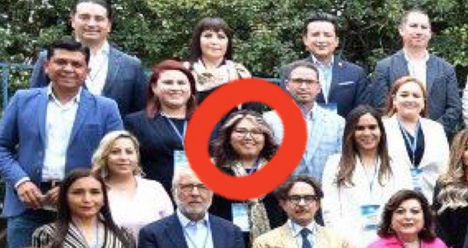 Tras alta por COVID, Genoveva se reúne con diputados federales del PAN en la CDMX