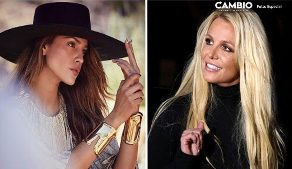 Eiza González manda poderoso mensaje de apoyo a Britney Spears