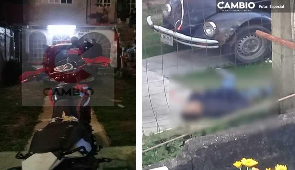 Noche Mexicana sangrienta: en riña asesinan a 'El Pitufo' afuera de un bar en Atempan